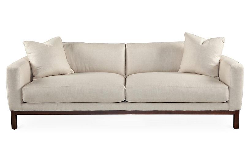 Butler 93 sofa wheat sofas settees living room for Sofa butler