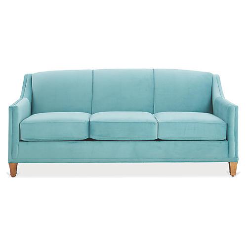 Erin Sleeper Sofa, Calypso Velvet