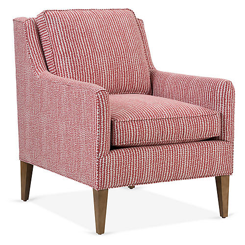 Alice Accent Chair, Paprika