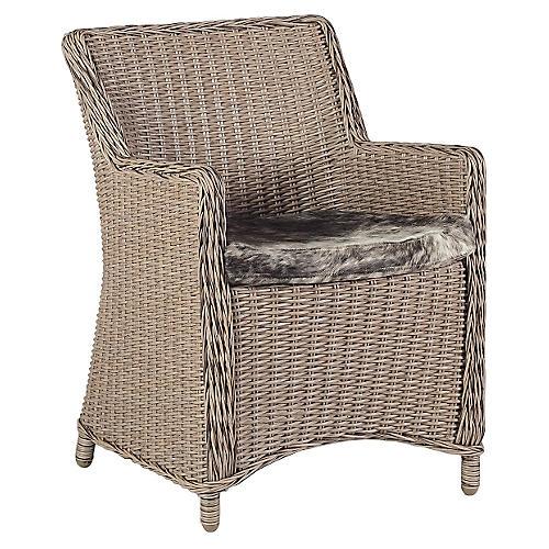 Smith Accent Chair, Beige