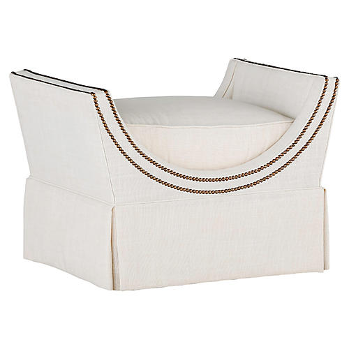 Gayle Single Bench, Zulu Vanilla