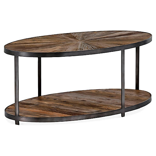 Ronald Coffee Table, Natural/Black