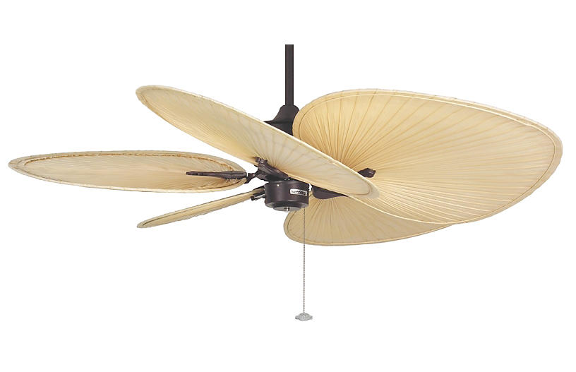 Islander Ceiling Fan, Rust
