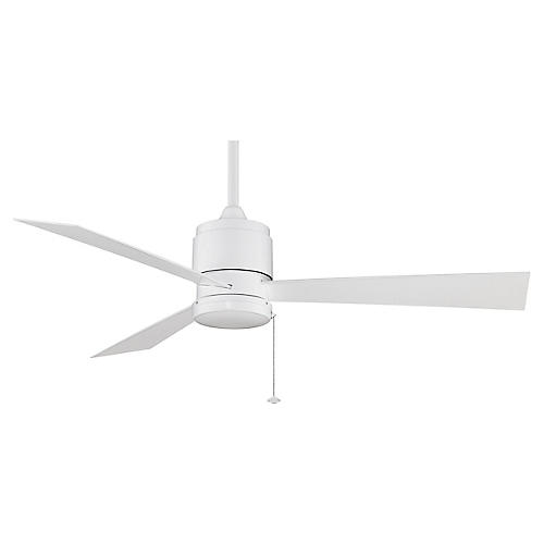 Zonix Wet Ceiling Fan, White