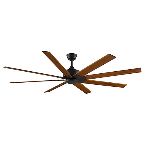 Levon Ceiling Fan, Bronze/Multi