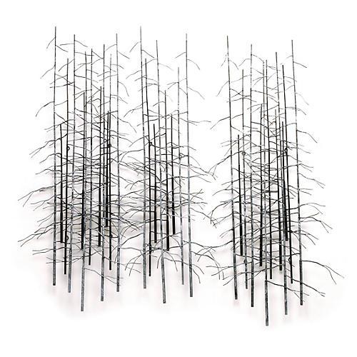 C. Jeré, Winter Trees, Set of 3