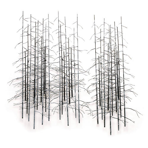 C. Jeré, Winter Trees, Set of 3