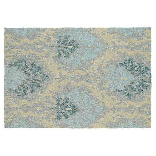 Rufus Outdoor Rug, Blue