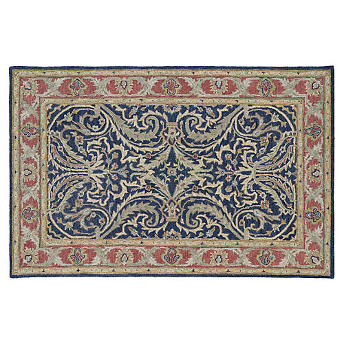 Lux Rug, Blue