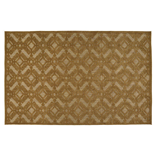 Regan Outdoor Rug, Brown