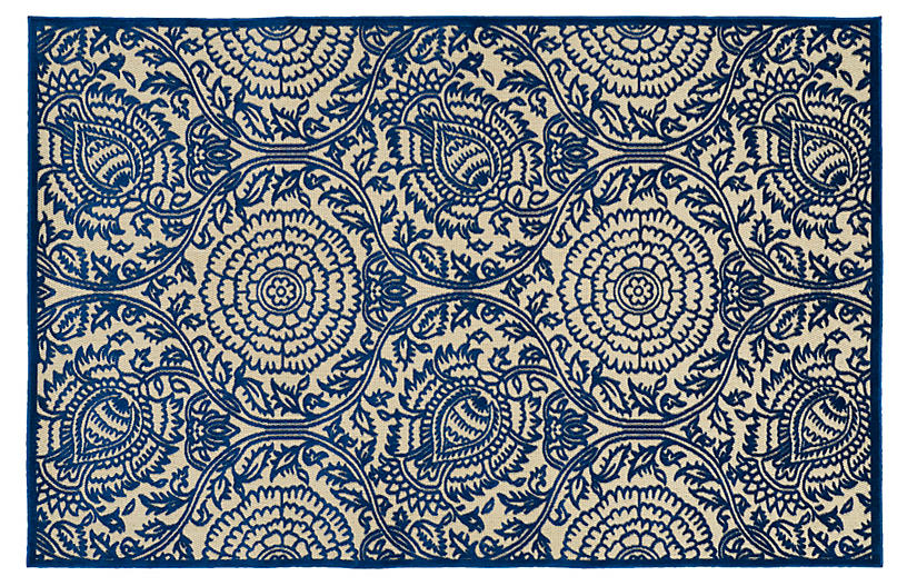 Bedford Flat Weave Rug Navy Rugs Under 400
