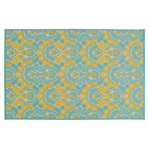Sebastian Outdoor Rug, Gold