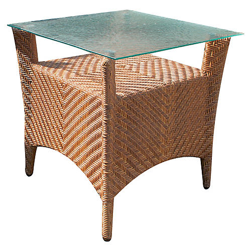 "Islander 24"" Side Table, Natural"