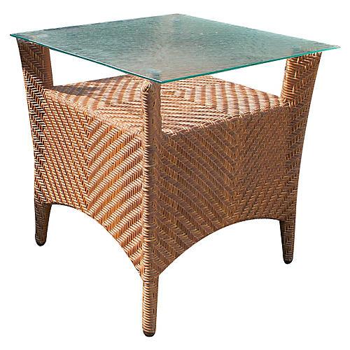 """Islander 24"""" Side Table, Natural"""