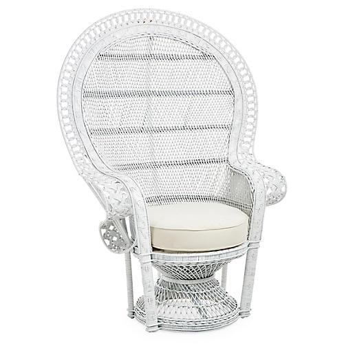 Rattan Peacock Chair One Kings Lane