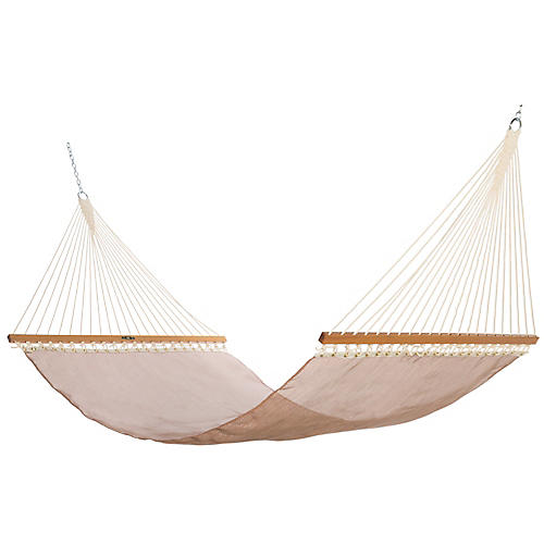 Pool-Side Hammock, Copper Sunbrella