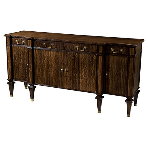 "Singular Boston 68"" Buffet, Brown"