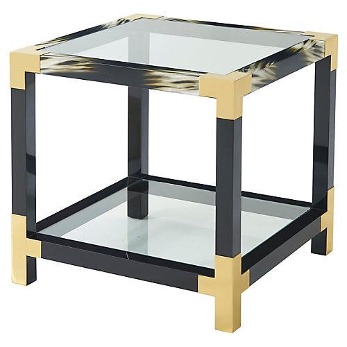 Cutting Edge Side Table, Black