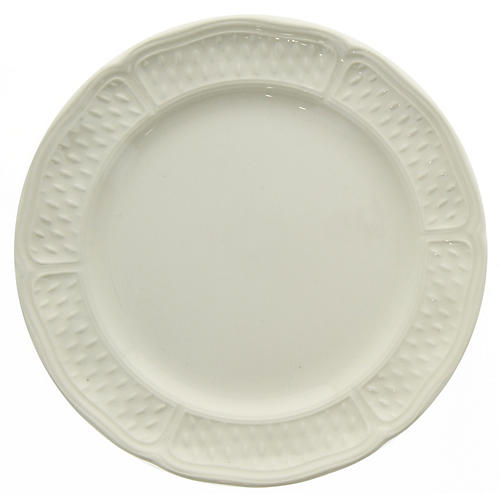 Pont Aux Choux Dessert Plate, White
