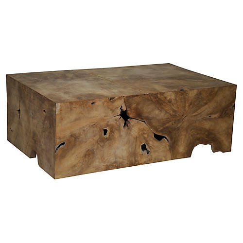 Root Coffee Table, Brown