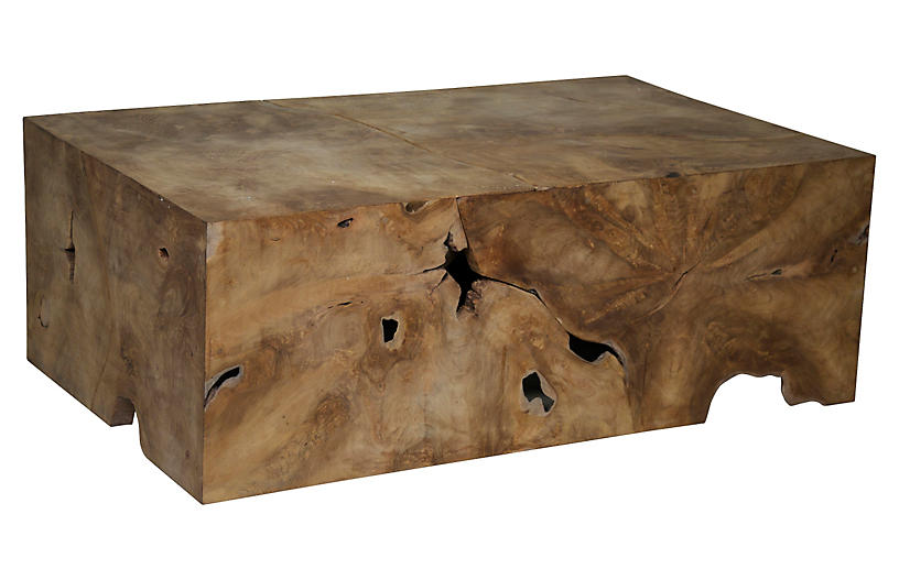 Root Coffee Table - Brown