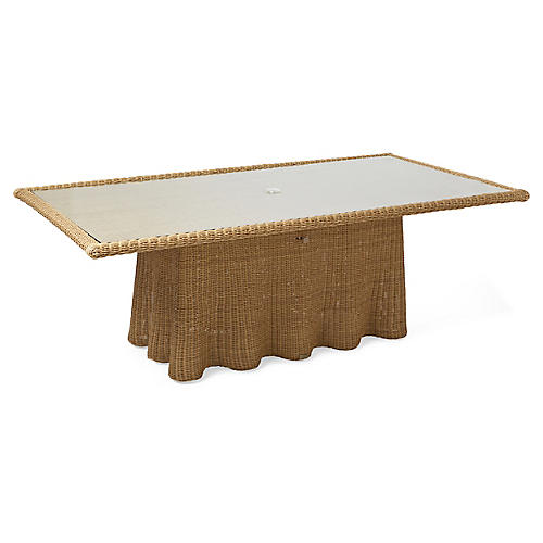 Crespi Dining Table, Natural