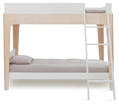 Enjoyable Perch Bunk Bed White Natural Ocoug Best Dining Table And Chair Ideas Images Ocougorg