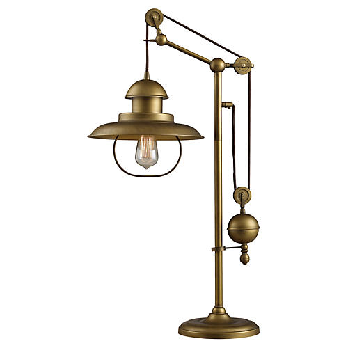 Farmhouse Table Lamp Bronze