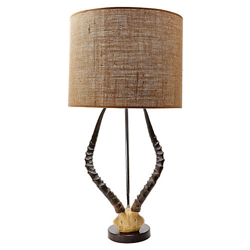 Antler Table Lamp, Natural