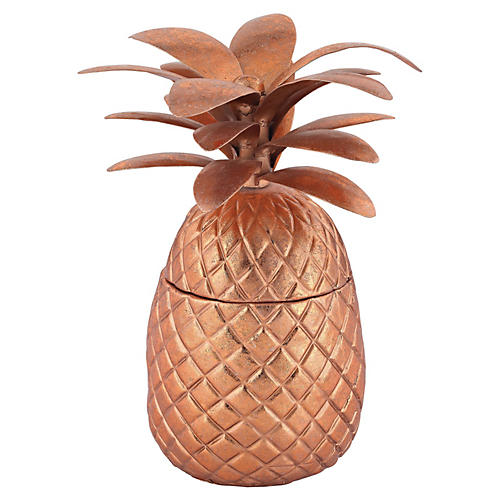 Decorative Pineapple, Copper
