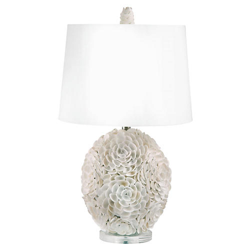 Shells Table Lamp, Natural