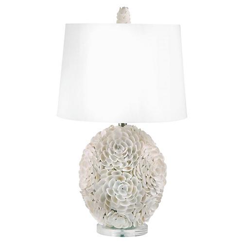 Shells Table Lamp, Natural
