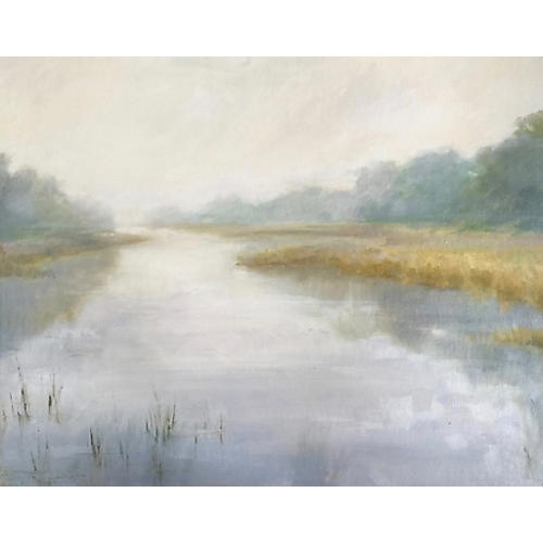 Marsh Fog, Lisa Gleim