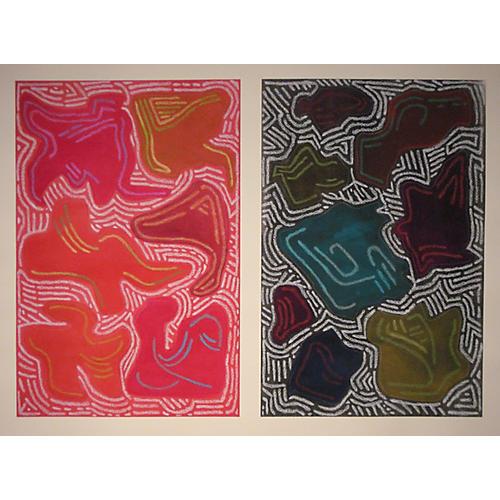 Diptych Maze, Linda Elksnin