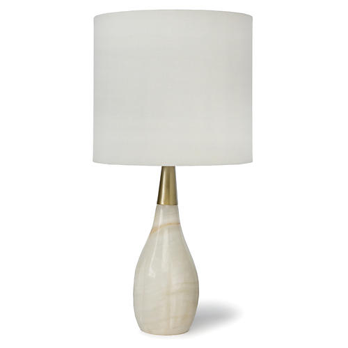 Contessa Alabaster Table Lamp