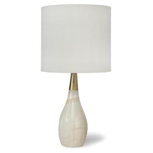 Contessa Alabaster Table Lamp