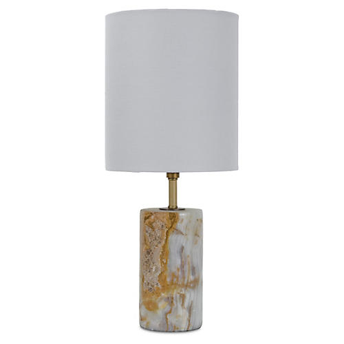 Mini Cylinder Table Lamp, Jade