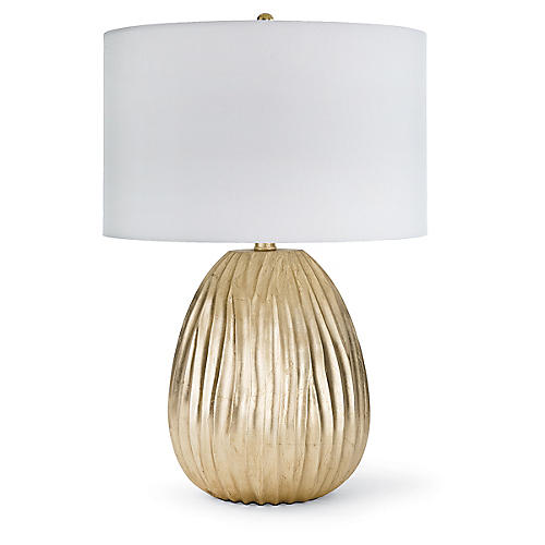Small Dune Table Lamp, Gold