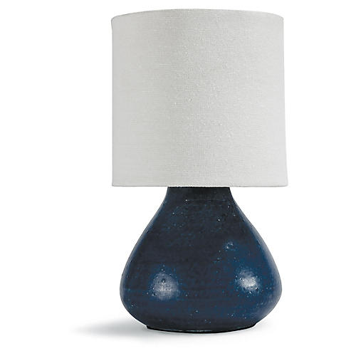 Mercury Table Lamp, Blue
