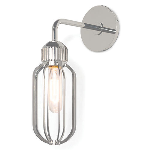 Rupert Sconce, Polished Nickel