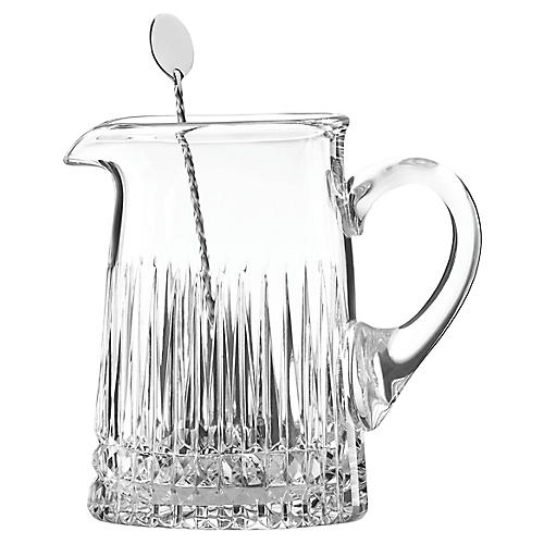 O'Brien New Vintage Pitcher, Clear