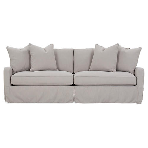 Havens Sofa, Greige Crypton