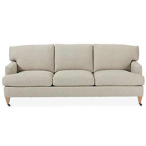 Tatum Sofa, Light Gray