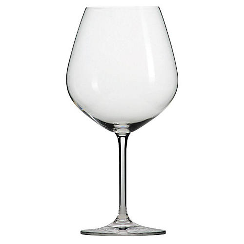 S/6 Scott Zwiesel Claret Burgundy Glasses