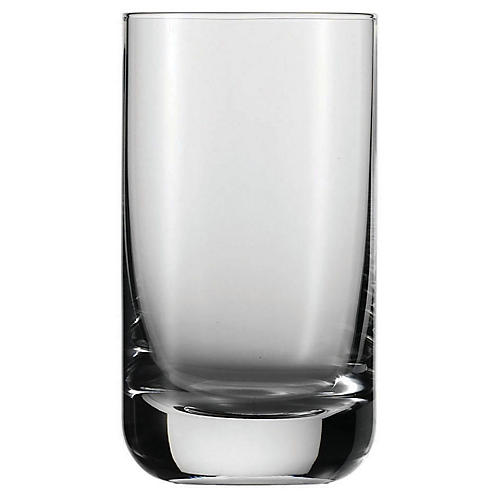 S/6 Tritan Highball Glasses, Clear