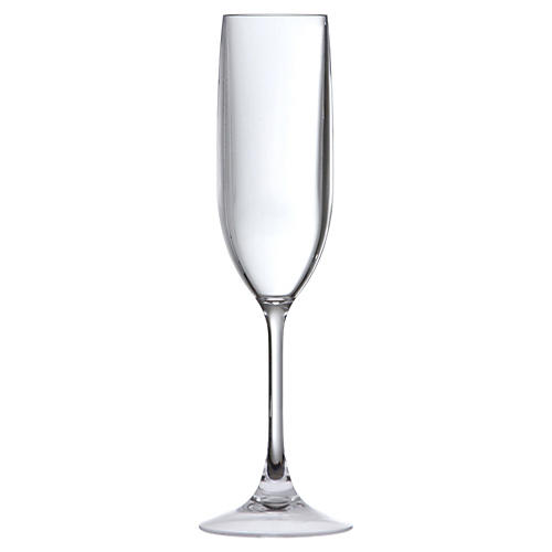 S/6 D&V Outdoor Champagne Flutes