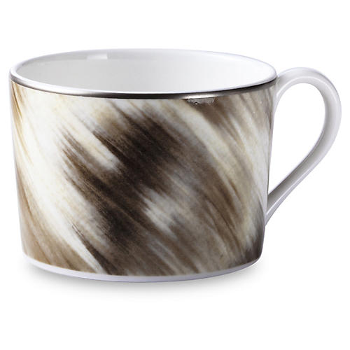 Gwyneth Teacup, Platinum Trim