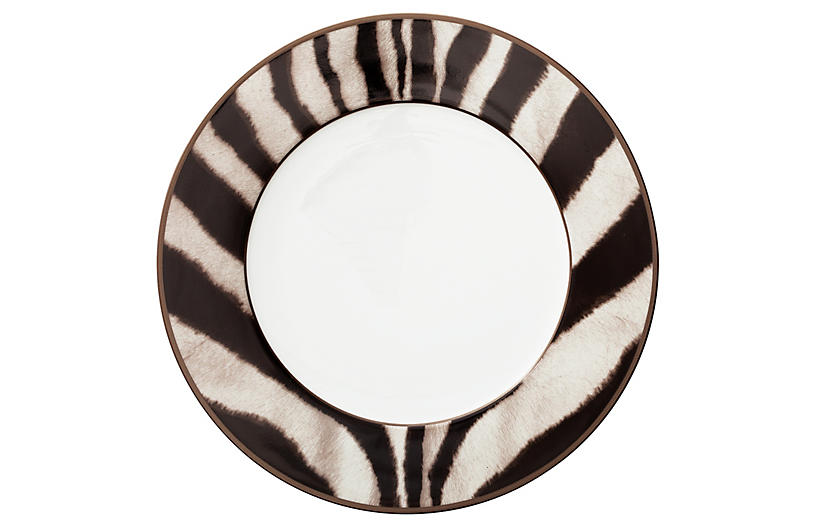 Kendall Dinner Plate - Brown/Black - Ralph Lauren Home