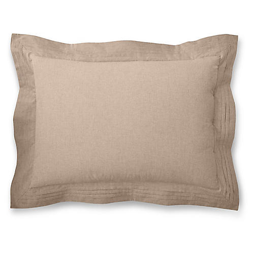 Modern Icons Sham, Brown