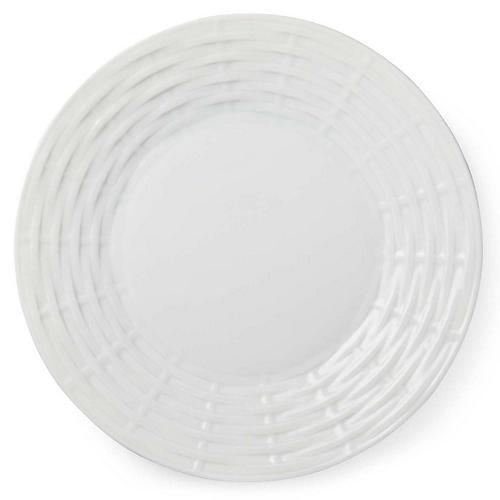 Belcourt Dinner Plate, White